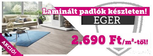 Eger! Laminált padlók készletről