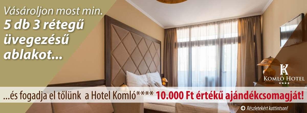 JOLA ajtó és Komló Hotel Gyula **** közös akciója