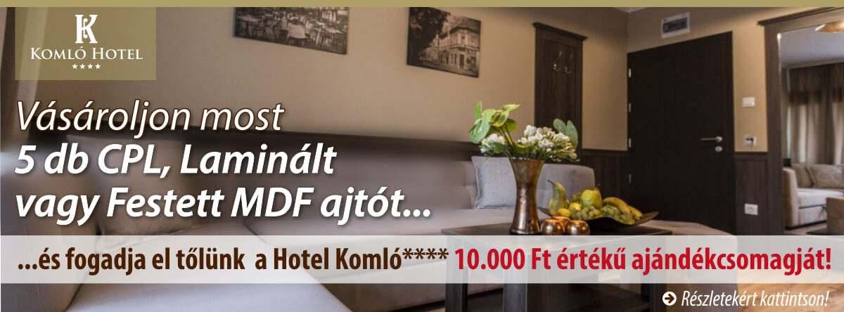 JOLA beltéri ajtó és Komló Hotel Gyula **** közös akciója