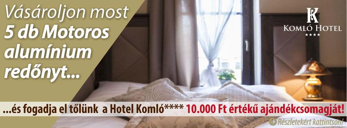 JOLA redőny és Komló Hotel Gyula **** közös akciója