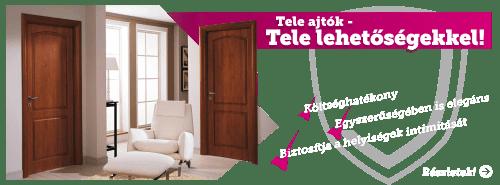 Soproni Beltéri ajtó nyereményjáték