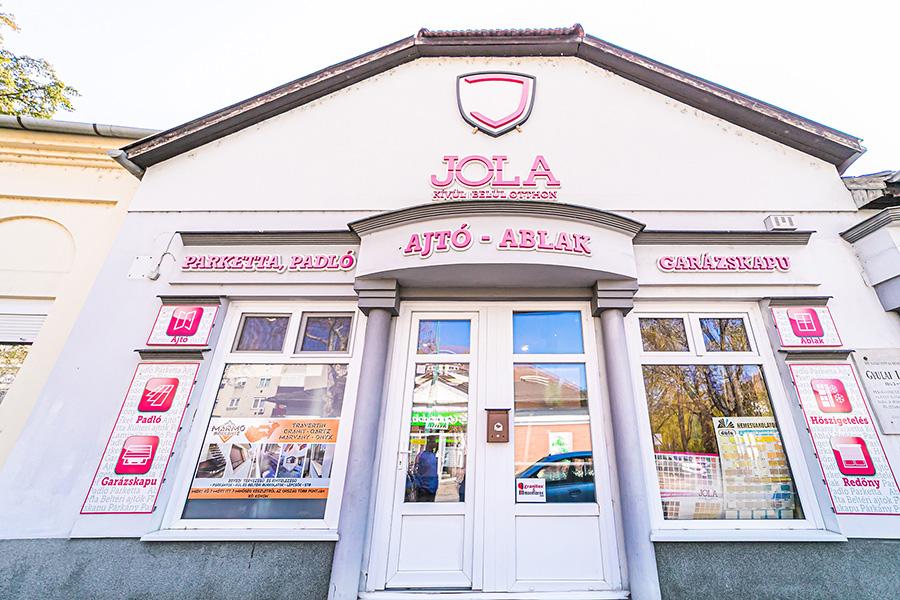 JOLA Gyulai üzlet külső