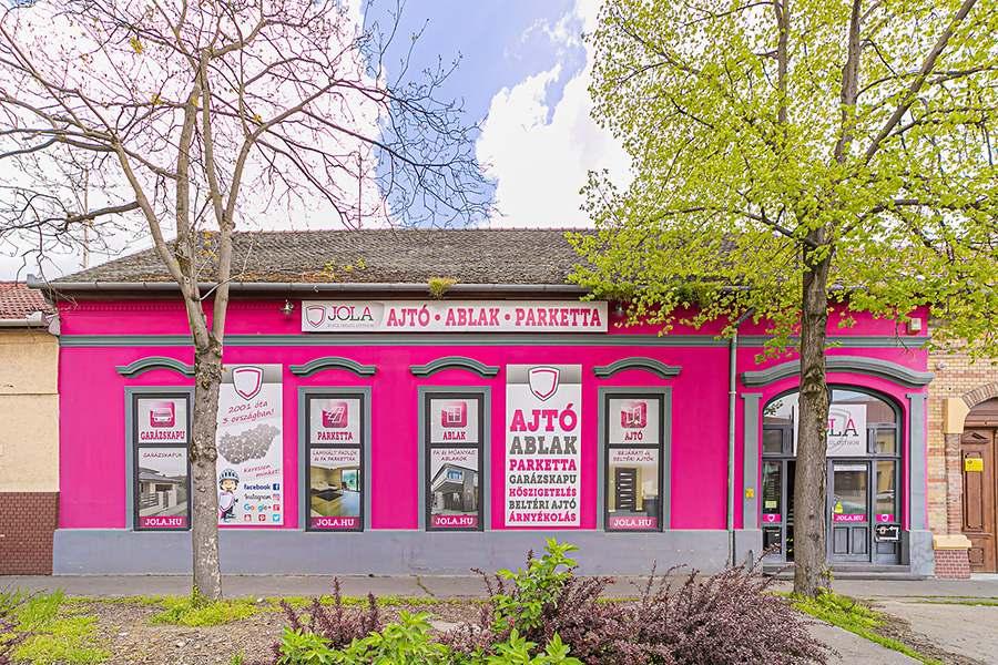 JOLA Hódmezővásárhelyi üzlet külső