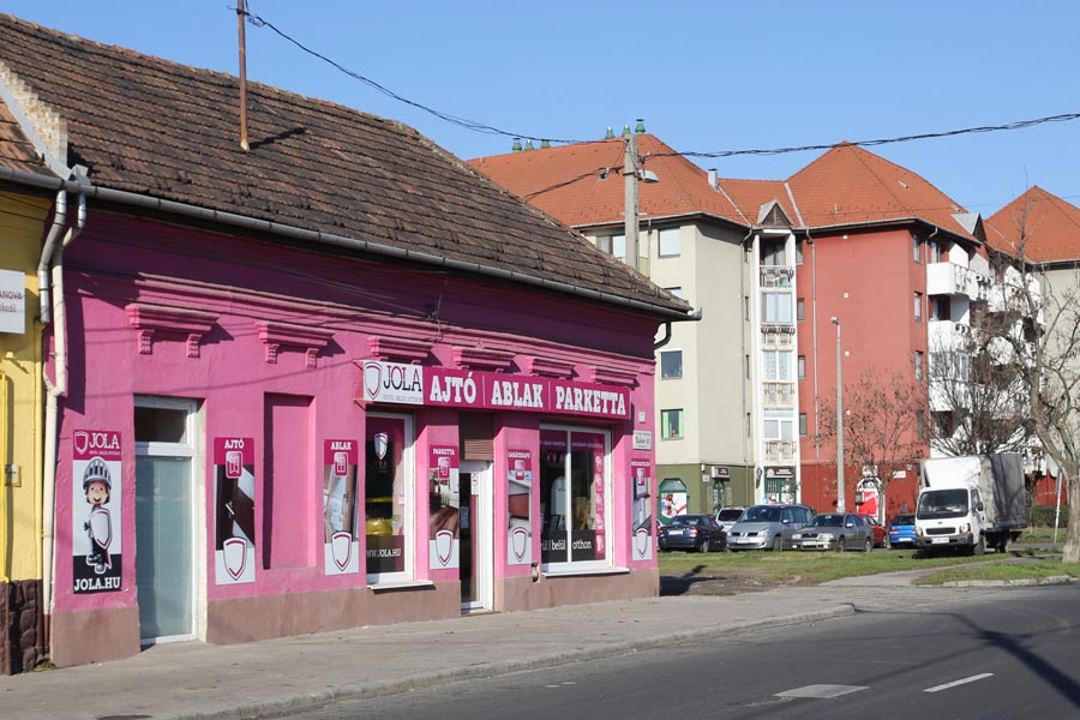 JOLA Rákospalotai üzlet külső