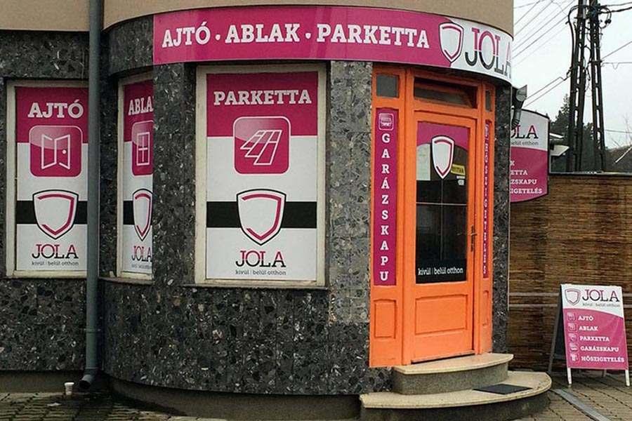 JOLA Sárvári üzlet külső