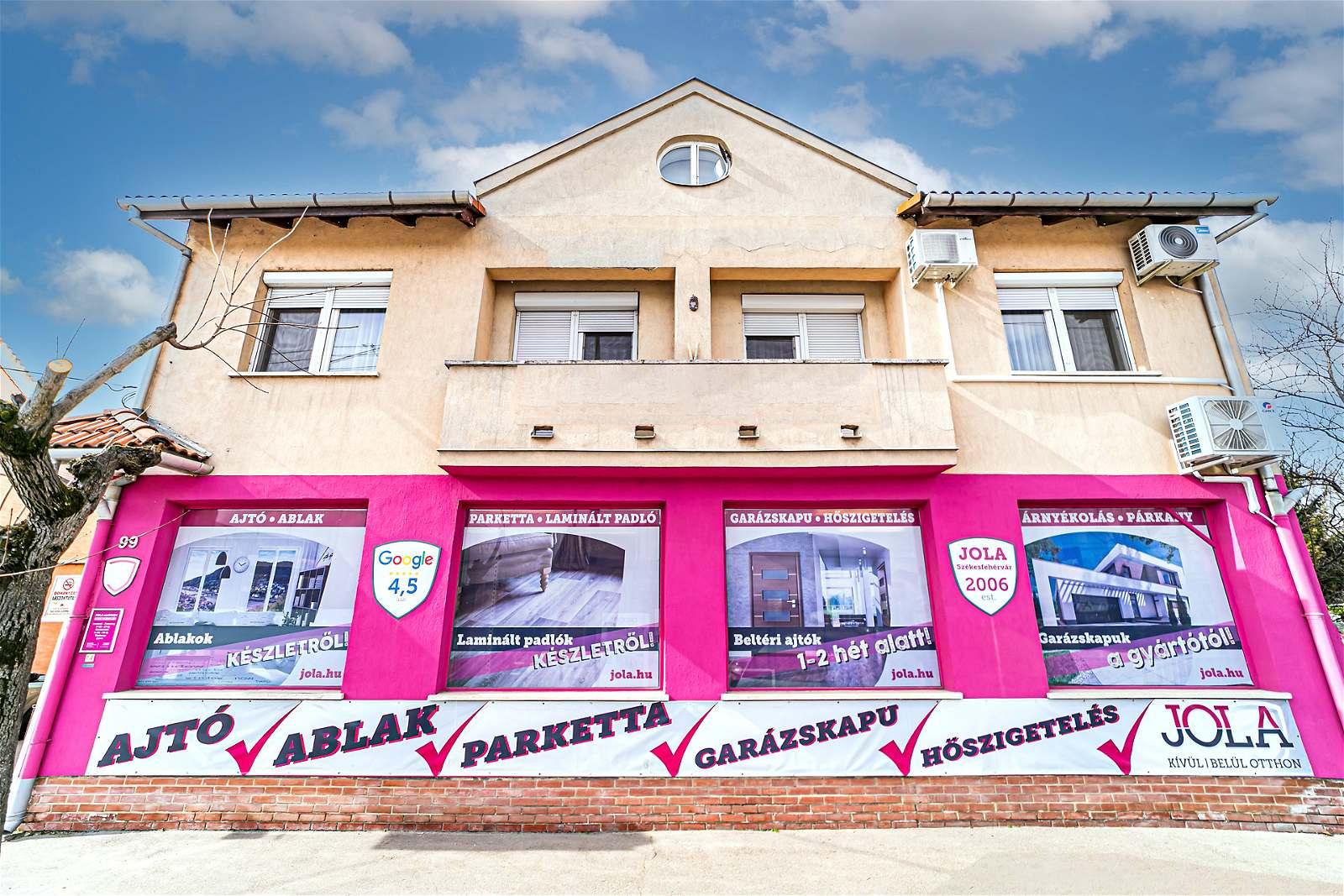 JOLA Székesfehérvári üzlet külső