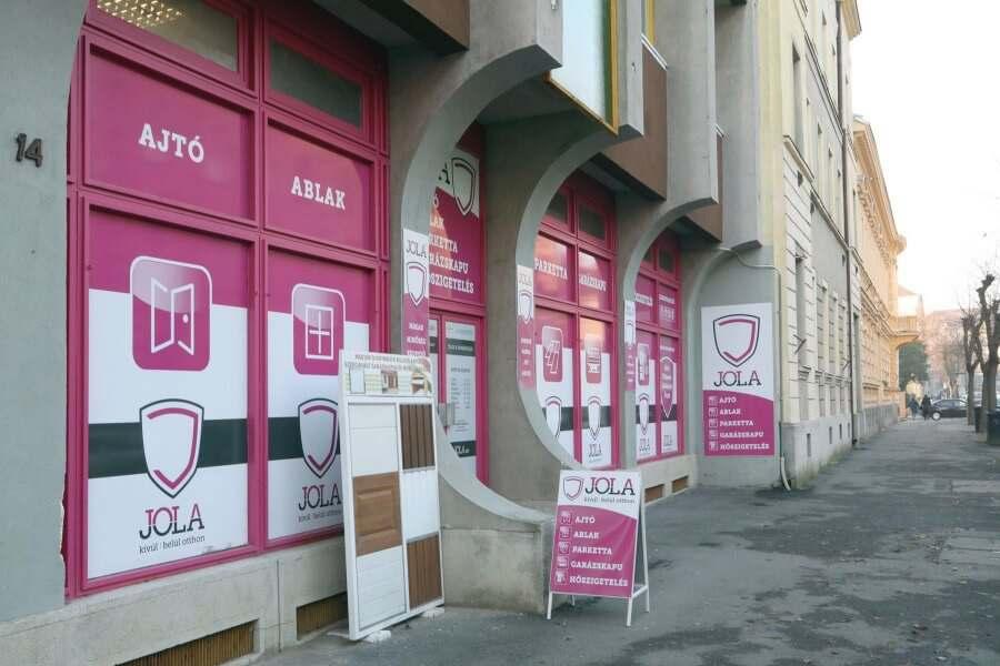 JOLA Szombathelyi üzlet külső